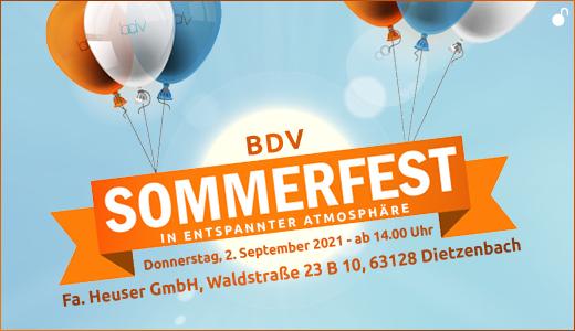 Sommerfest 2021 Banner